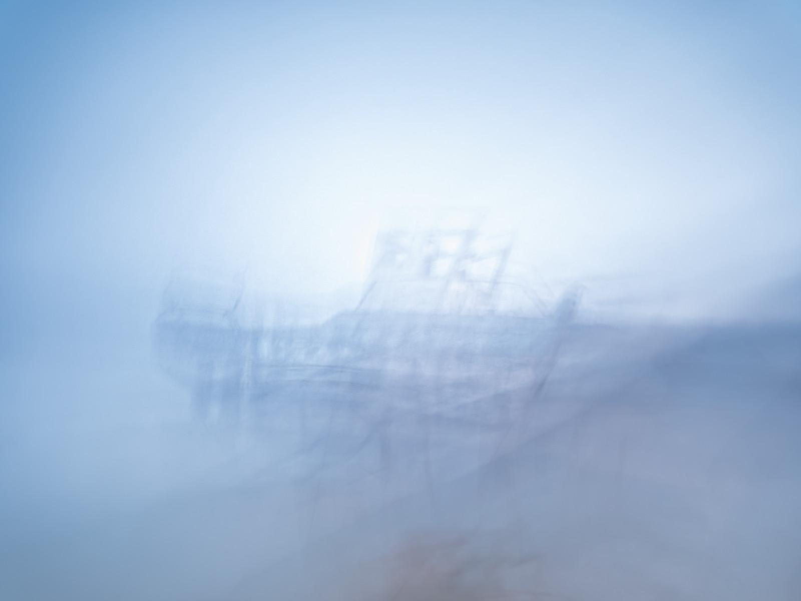 abstract, abstrait, art, Bretagne, Brittany, cauchemar, dream, etrange, fine art, ICM, intentional camera movement, landscape, paint, paysage, peinture, reve, seascape, strange, trouble