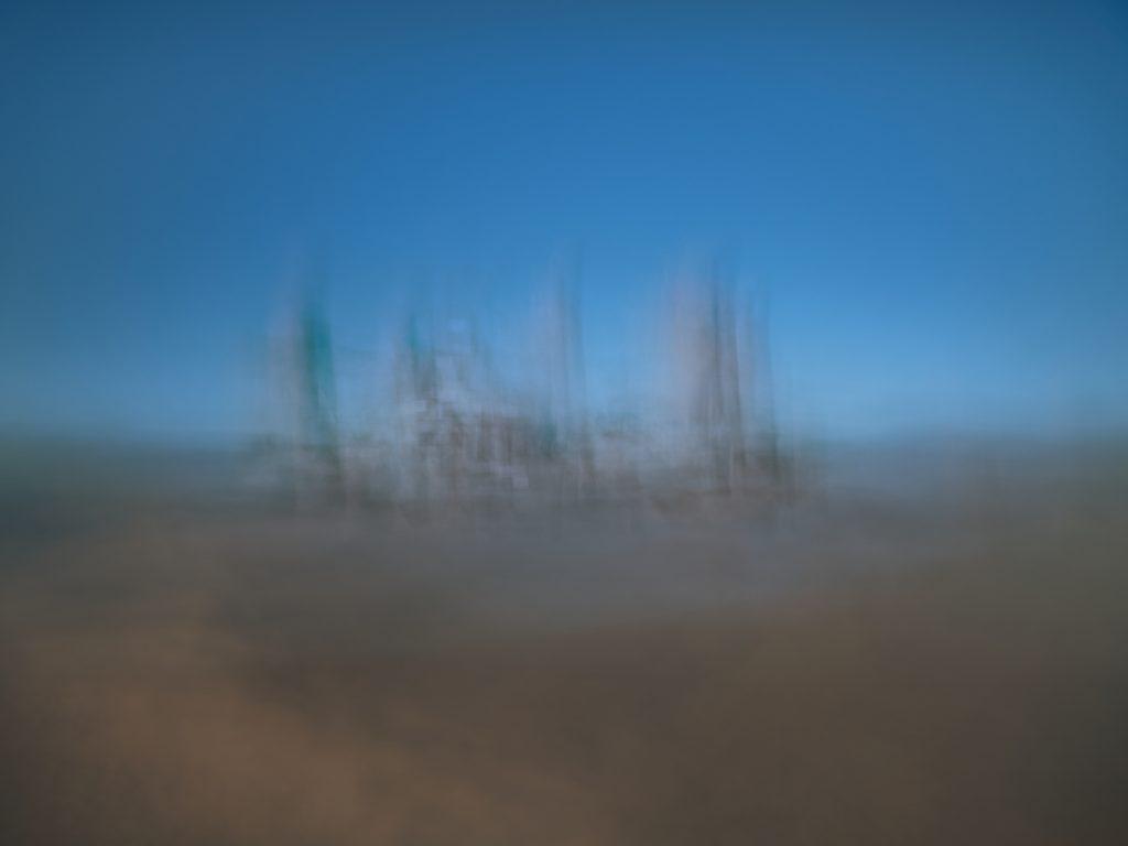 Bretagne, Brittany, ICM, Intentional camera movement, sunset, chateau, castle, seascape, paysage marin, mer, ocean océan, sea,