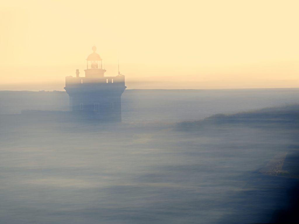 Bretagne, Brittany, ICM, Intentional camera movement, sunset, phare, lighthouse, kermorvan,, seascape, paysage marin, mer, ocean océan, sea,