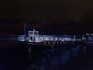Brest, Bretagne, Brittany, street, photography, port, harbour, passerelle, ponton, noctambulage, nuit, night,