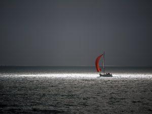 bretagne, brittany, bateau, boat, lumière, light, voile, mer, sea, océan, ocean